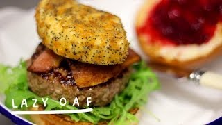 Lazy Oaf: An Honest Xmas Burger