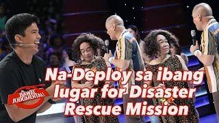 Na-Deploy sa ibang lugar for Disaster Rescue Mission | Bawal Judgmental | January 13, 2020