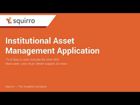 Squirro's Institutional Asset Management Video