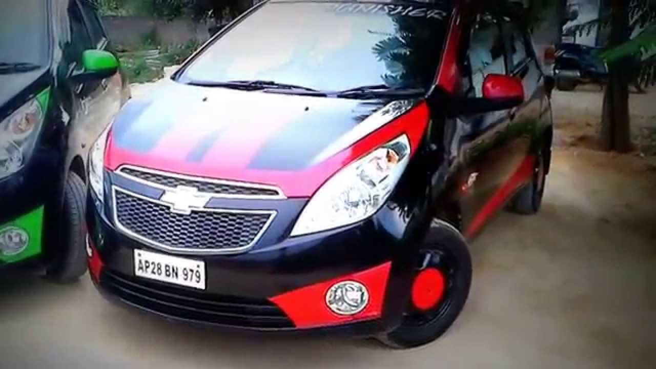 Chevrolet Beat Modified Hyderabad ( The Crew ) - YouTube