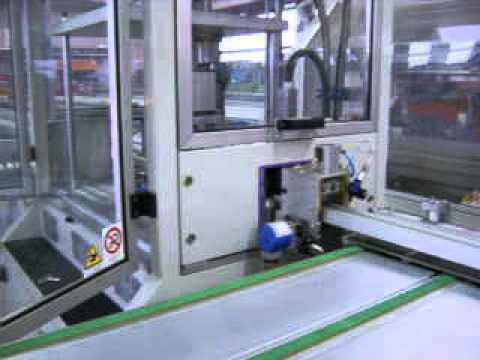 GUIDE RAILS - AUTOMATIC MACHINE FOR ALUMINIUM GUIDE RAILS FOR ROLLER SHUTTERS.avi