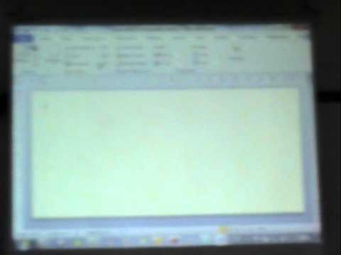 การใช้ MS word บน Office 2010 (6/6)