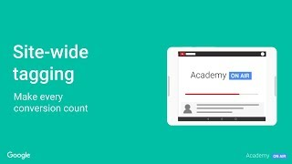 Academy on Air:  Sitewide Tagging (08/30/18)