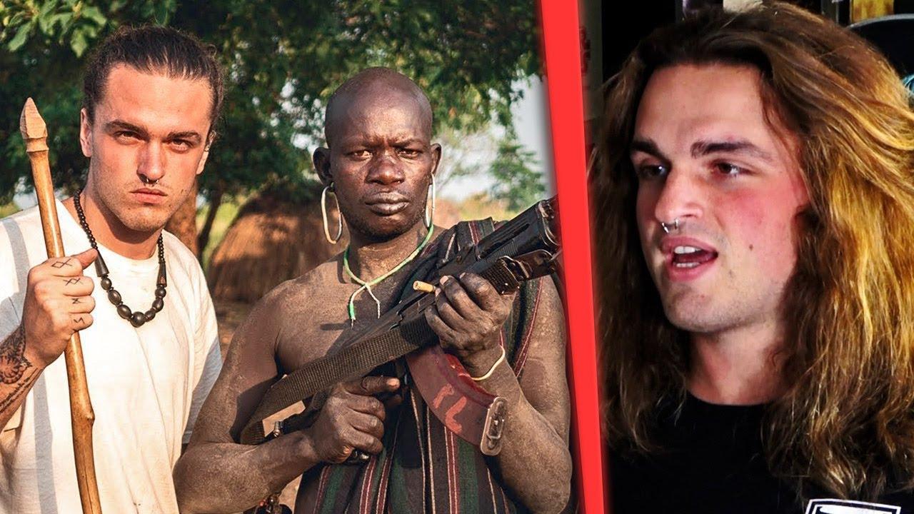 """""""Estuve dos días conviviendo con la tribu más peligrosa de África, los Mursi"""" - Lethal Crysis"""