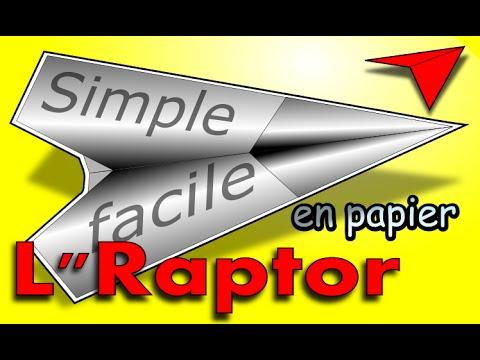 Avion En Papier Faire Simplement Original