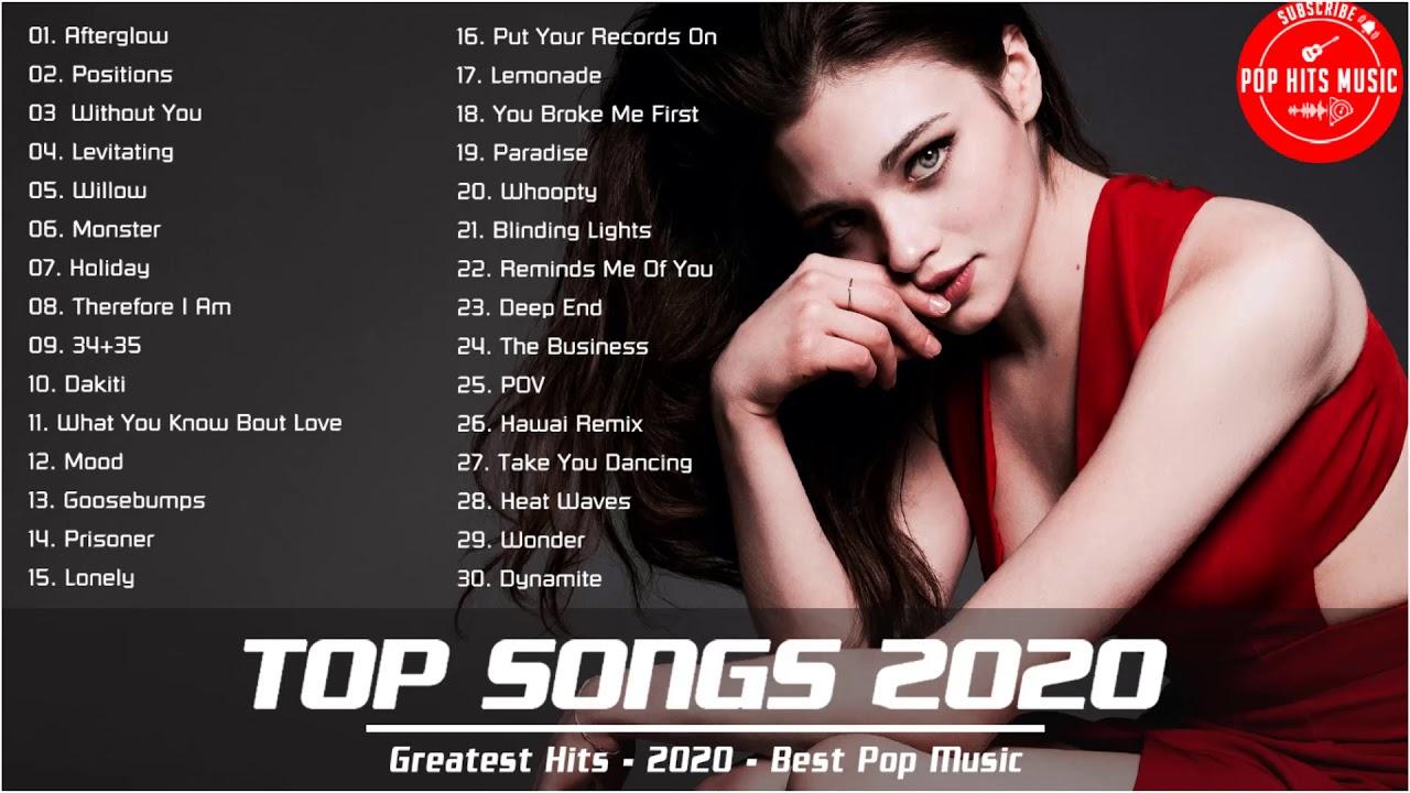 New Popular Songs This Week Top 40 Songs Of The Week Spotify Top Hits This Week Top Hits 2020 Youtube