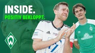 Matze Knop macht den Kruse & Per Mertesacker sagt Tschüss | WERDER.TV Inside behind the Scenes