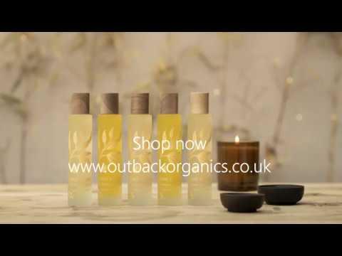 Outback Organics Green & Gold Massage Body Oils