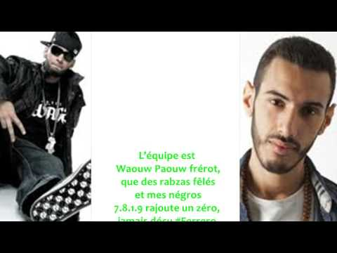 La Fouine - Rien à perdre feat Canardo Paroles