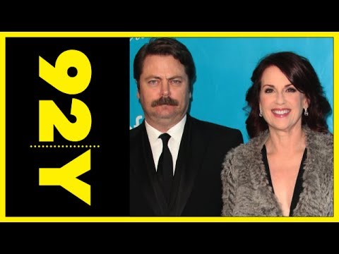 Megan Mullally and Nick Offerman with Sharr White