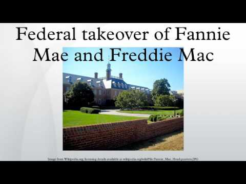wiki federal takeover fannie freddie