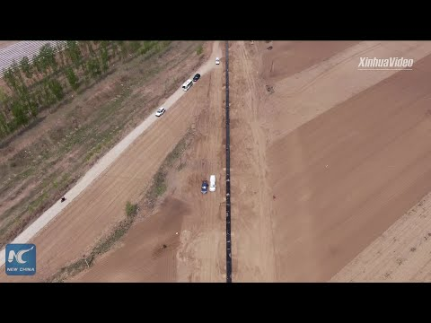 Construction of China-Russia east-route natural gas pipeline in full swing