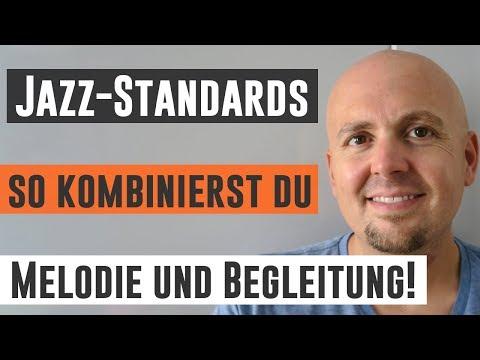 Jazz Gitarrenunterricht - Jazz Standards Melodie und Akkorde verbinden