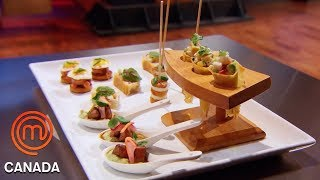 Hors D'oeuvres Tag Team Challenge | MasterChef Canada | MasterChef World