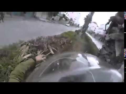 Attempted vehicular attack at Halhul Video   Arab Media