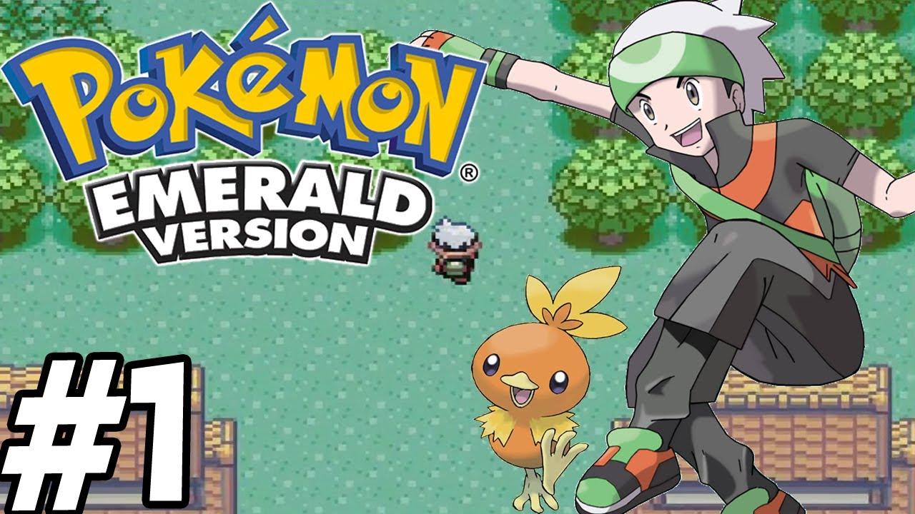 Pokemon emerald episode 1 the beginning youtube sciox Choice Image