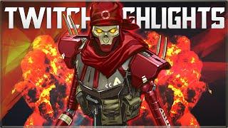 APEX LEGENDS - TWITCH HIGHLIGHTS (Apex Legends Season 4 Revenant )