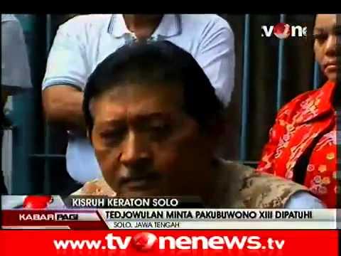 Pakubuwono XIII Angkat Bicara Soal Kisruh Keraton Surakarta1