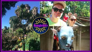 Walt Disney World Vlog 2018 - Day 6 Part 1 - Exploring Pandora For The First Time