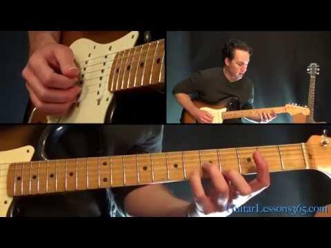 Dream On Guitar Lesson Pt.2 - Aerosmith