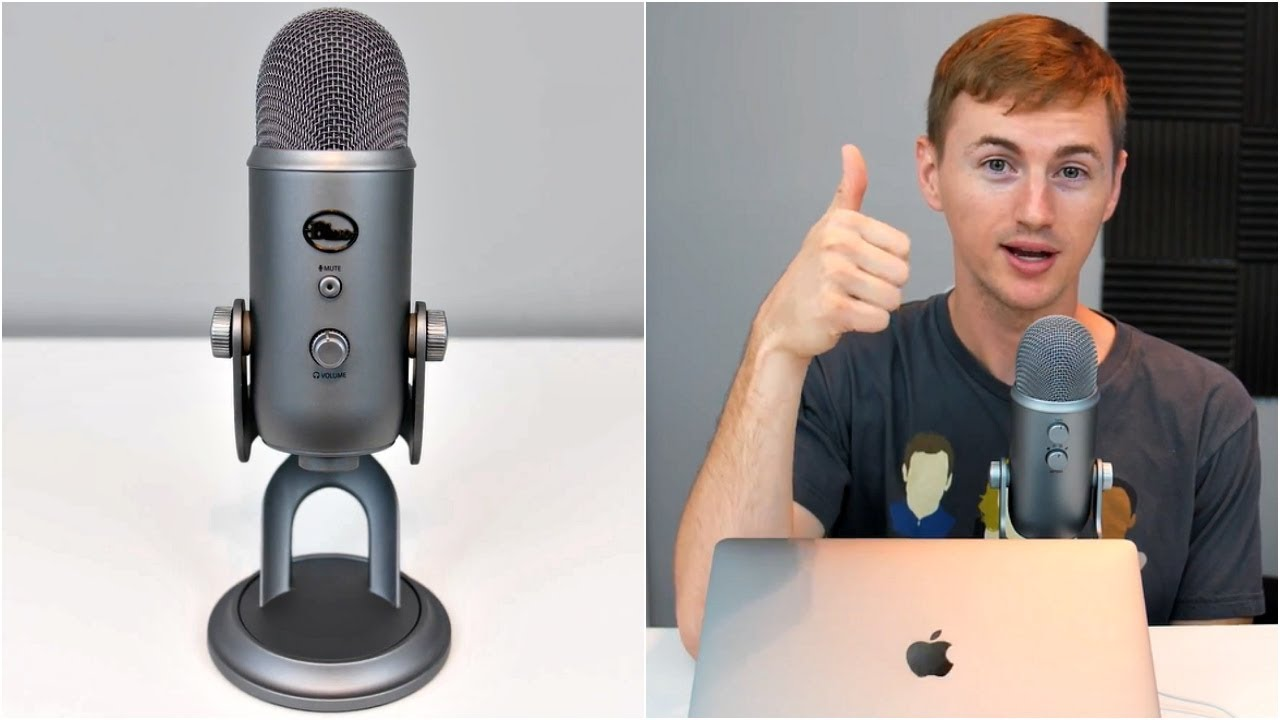 Best USB Microphone! Blue Yeti Review + Mic Test