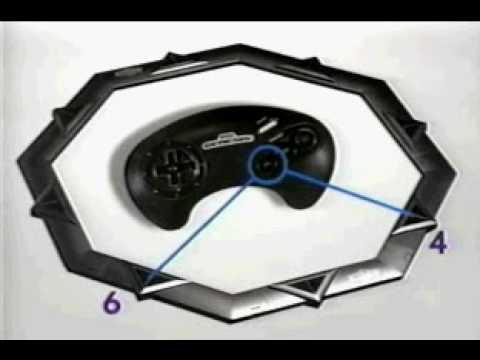 SEGA Mega Drive Genesis Activator Promotion
