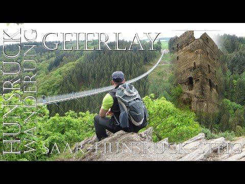 Wanderung im Hunsrück zur Geierlay und Burgruine Balduinseck