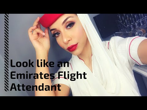 How to look like an Emirates flight attendant - Makeup tutorial & grooming standards