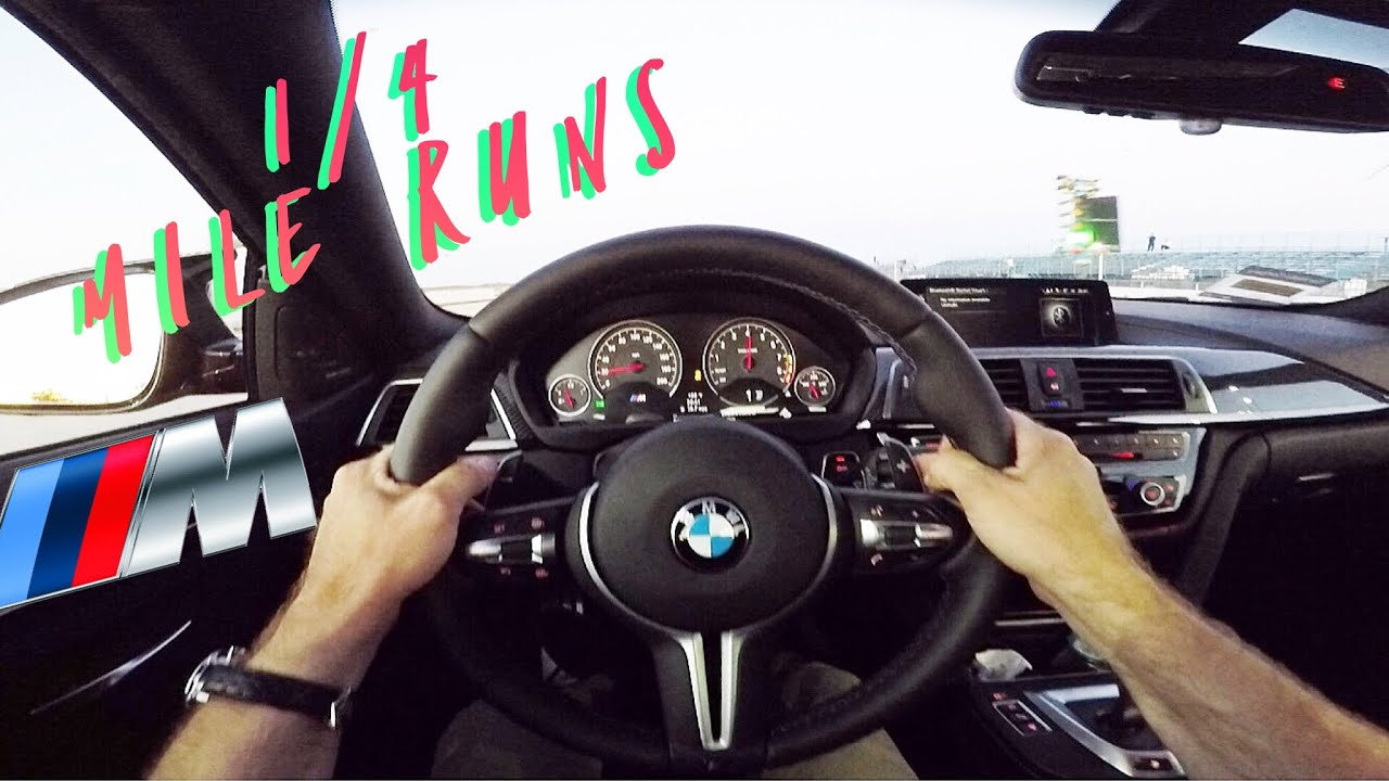 Bmw F82 M4 Stock 14 Mile Time And Audi S3 14 Mile Times Youtube