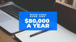 2 HIGH PAYING JOBS - EARN UP TO $80,000 USD/YEAR - WORK FROM HOME JOBS - MAKE MONEY ONLINE -