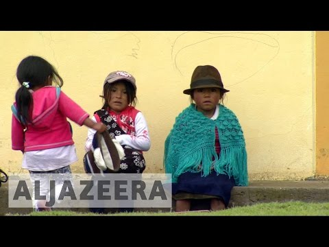 Ecuador's indigenous hope for a better president
