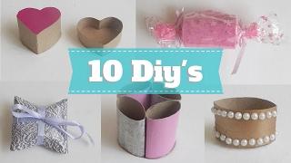 10 Diys e dicas para reutilizar rolos de papel