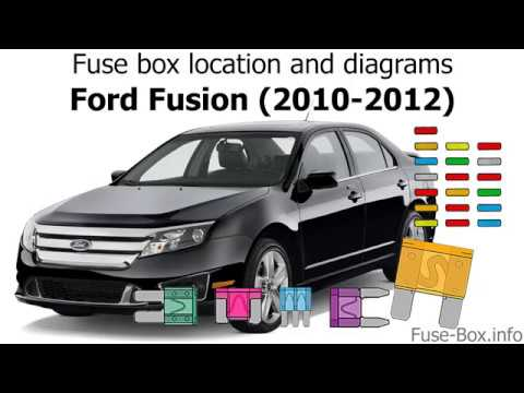 fuse box location and diagrams ford fusion 20102012