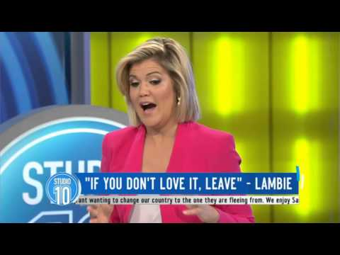 "Lambie: ""If You Don't Love It, Leave"""
