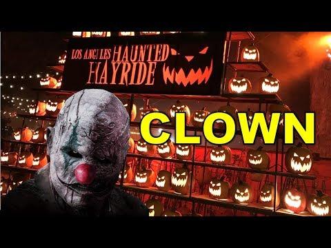 Los Angeles Haunted Hayride: Clown 2017 FULL RIDE + CORN MAZE