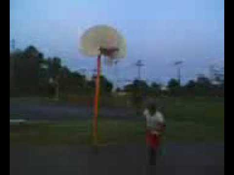 me dunking