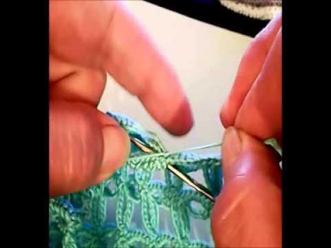 Chiacchierino come nascondere il filo doovi for Nodo invisibile per unire due fili di lana
