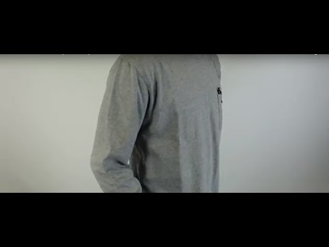 Dickies Men's WL450 Long Sleeve Tagless Pocket Tee Shirt