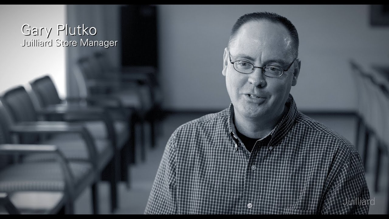 Juilliard Snapshot: Gary Plutko On What Makes the Juilliard Store's Staff Unique