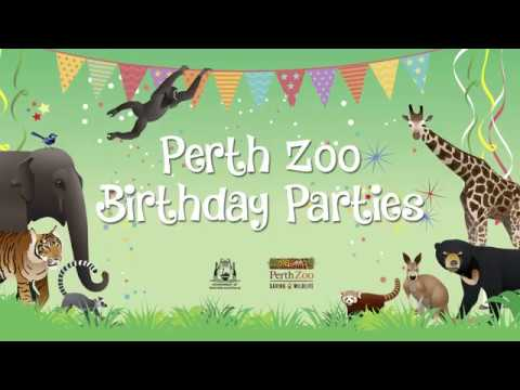 Perth Zoo Birthday Parties
