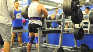 Smolov Squat routine: 120lbs increase in 11wks.