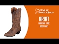Ariat Women's Western Heritage R Toe Boots 10001021