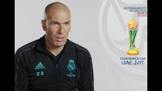 ZIDANE: Real Madrid is Ready To FIFA CLUP WORLD CUP 2017 UAE