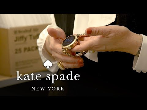 New Smartwatch Unboxing | February New Arrivals | Talking Shop With Tiffany | Kate Spade New York