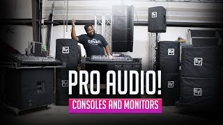 PRO AUDIO RIG EP. 2 | AUDIO CONSOLES AND MONITORS