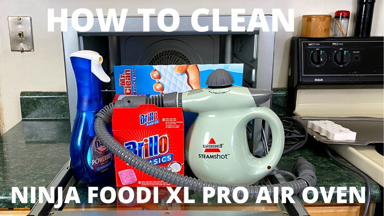 NINJA FOODI XL Pro AirOven- How To Clean and What Works