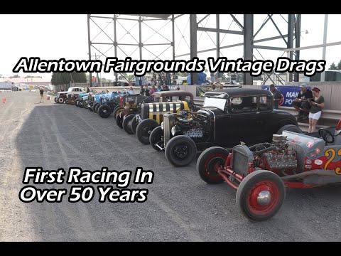 Allentown Fairgrounds Vintage Drags
