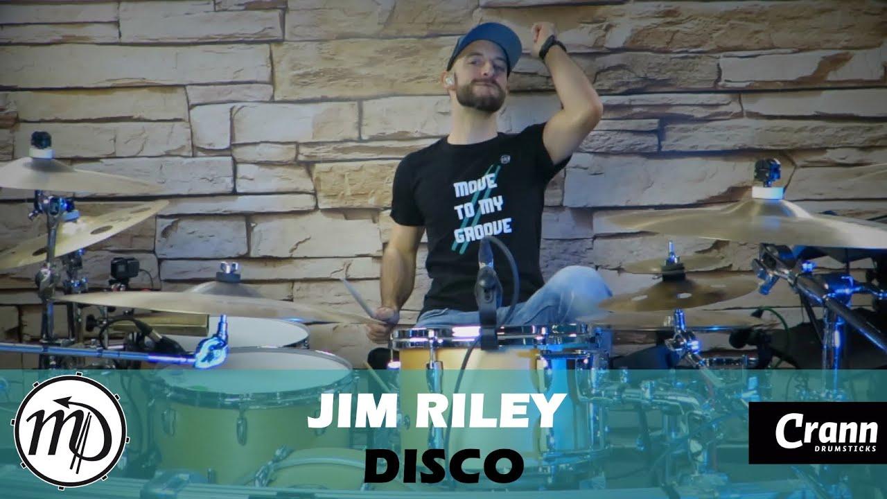 Jim Riley - Disco - Drum Cover Drumeo (Electro) PEARL Maple Gum