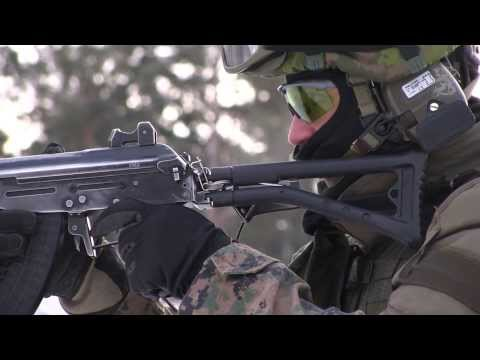 Fighting the Cold - U.S. Marine Corps training in Finland