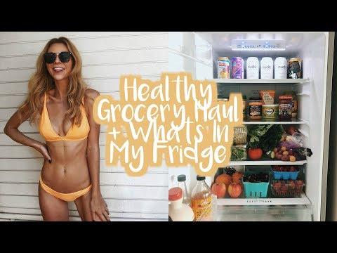 Healthy Grocery Haul & Whats In My Fridge